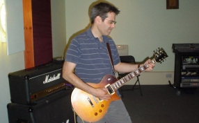 Graham in rehearsals